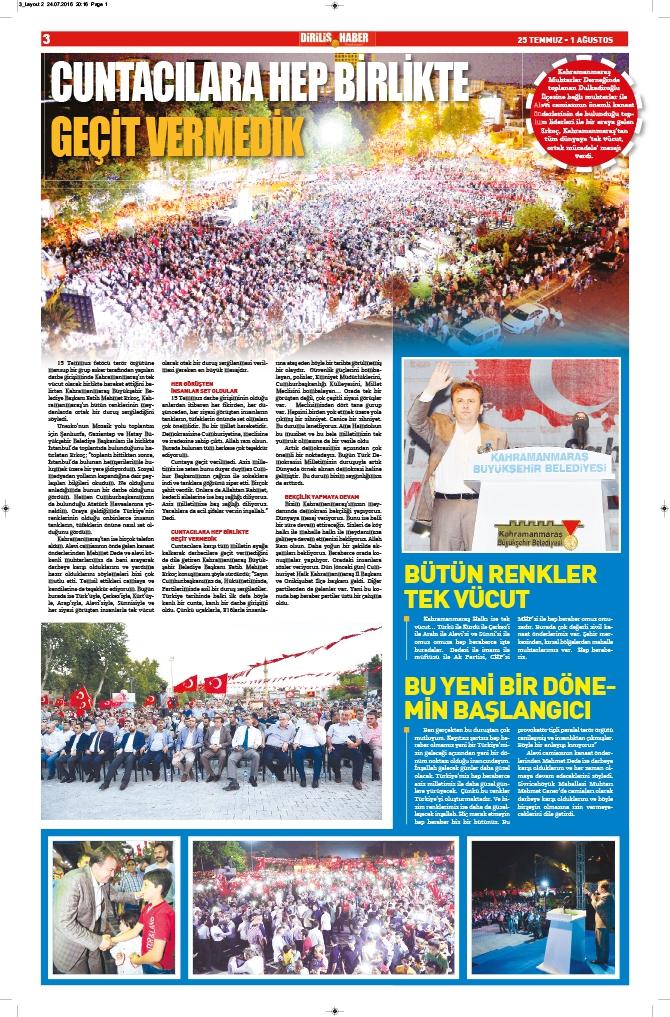 Diriliş Haber'in yeni sayısı çıktı! 4