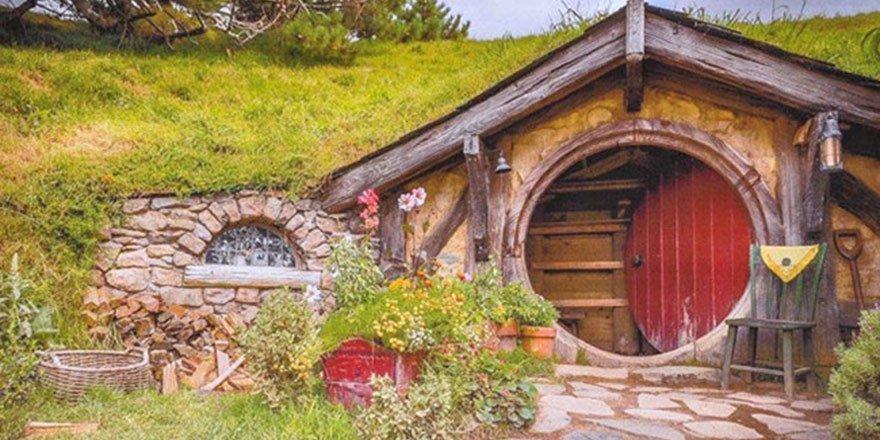 Sivas'taki Hobbit Köyünden Kareler