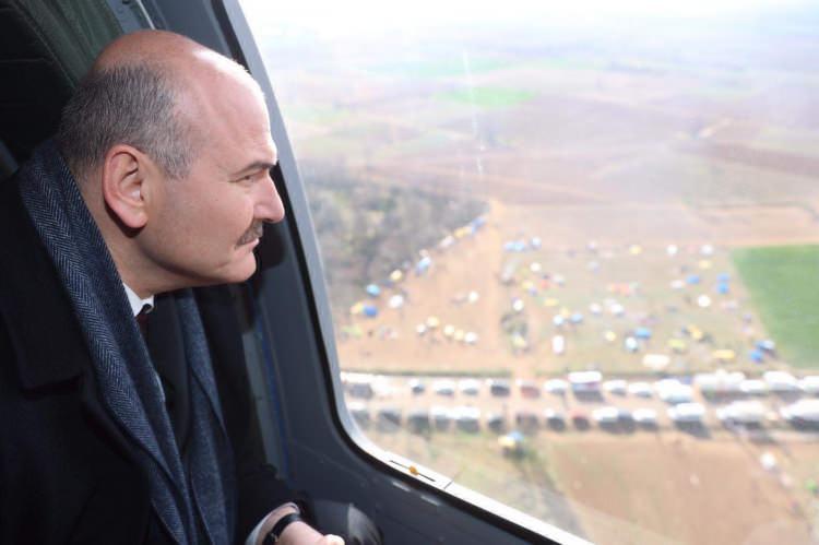 Türkiye-Yunanistan sınırına birde havadan bakın 1