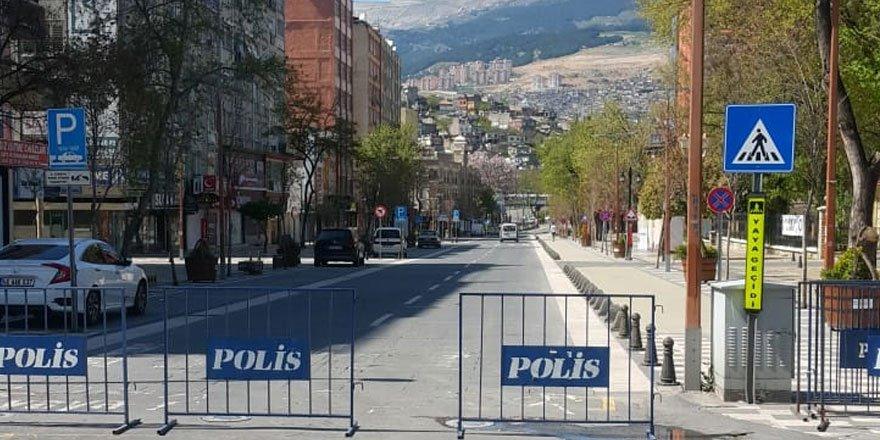 Issız Kahramanmaraş! Sokağa çıkma yasağı sonrası şehirden kareler
