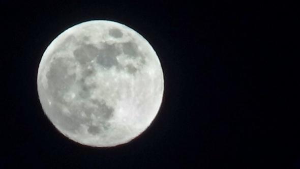 Görenleri kendine hayran bıraktırdı! 'Süper Ay' böyle görüntülendi 1