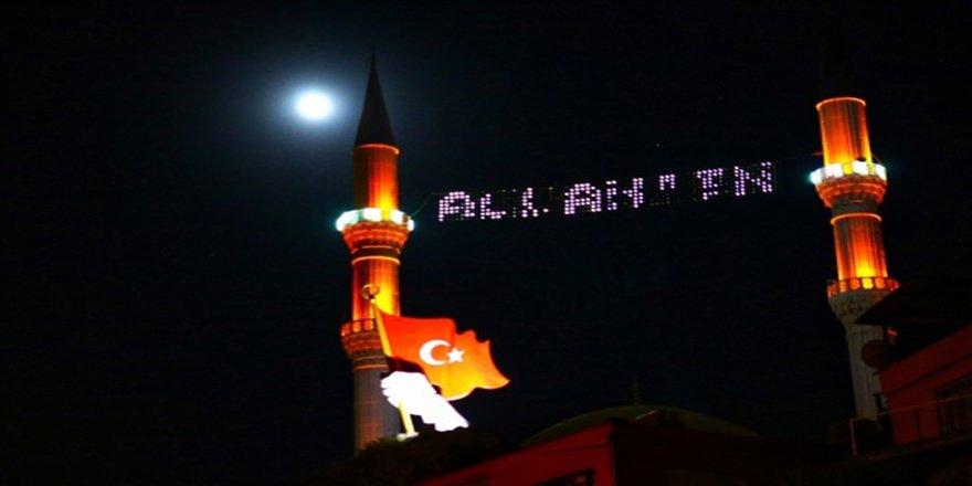 Dolunay ve Çilek Ayı tutulması Hatay'da Türkiye'nin simgeleri