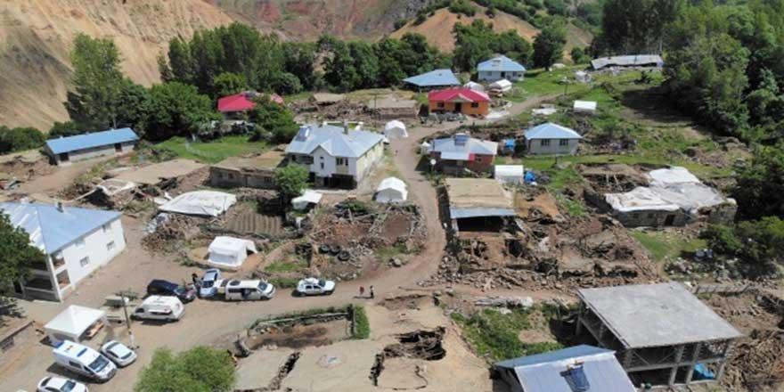 Bingöl'de deprem bölgesinde yaşam
