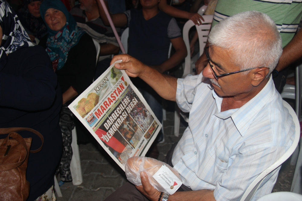 Demokrasi Meydanında Maraştan Haber sesleri 4