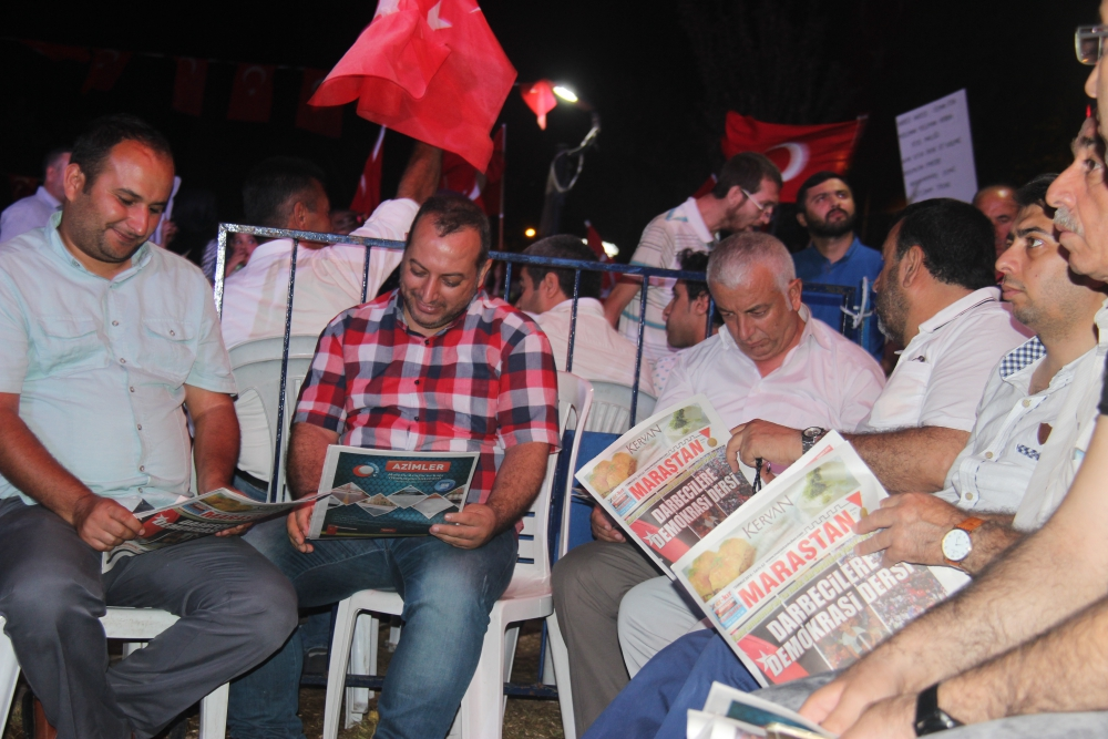 Demokrasi Meydanında Maraştan Haber sesleri 7