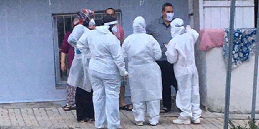 Kahramanmaraş'ta bir ev karantinaya alındı