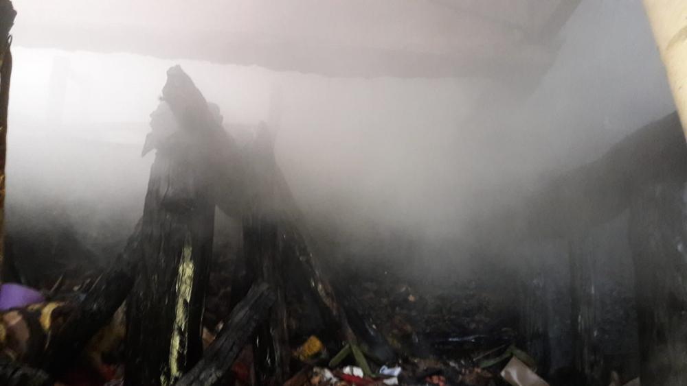 Kahramanmaraş'ta ev yangını korkuttu 1