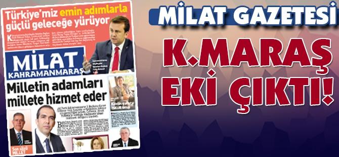 Milat Gazetesi Kahramanmaraş eki çıktı! 1