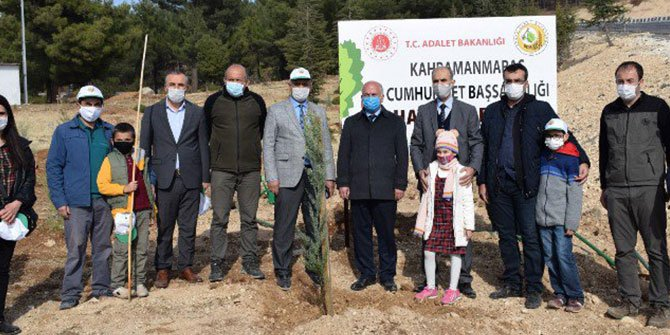 Kahramanmaraş'ta '5. Adalet Ormanı' oluşturuldu