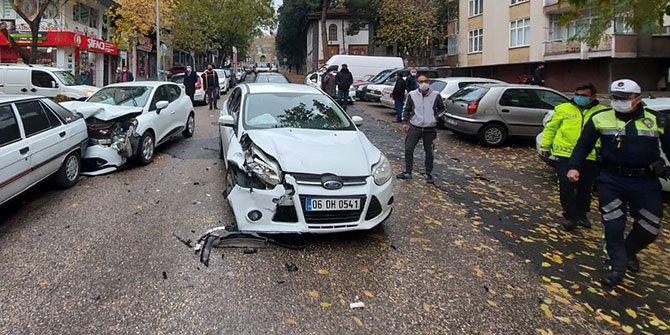 Kahramanmaraş'ta dikkatsizlik trafik kazasına neden oldu