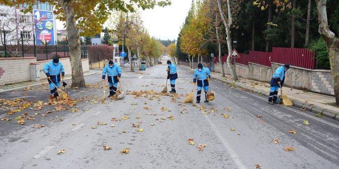 K.maraş'ta kısıtlama günlerinde cadde ve sokaklar özenle temizlendi