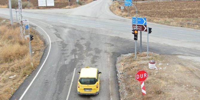 Kahramanmaraş'ta jandarmadan drone ile trafik denetimi