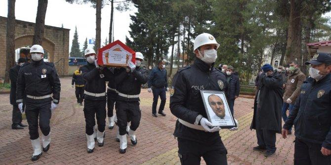 Kahramanmaraşlı polis memuruna son görev