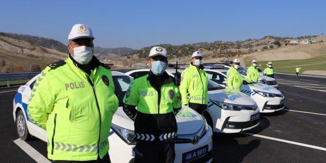 Kahramanmaraş'ta trafik denetimleri artırıldı