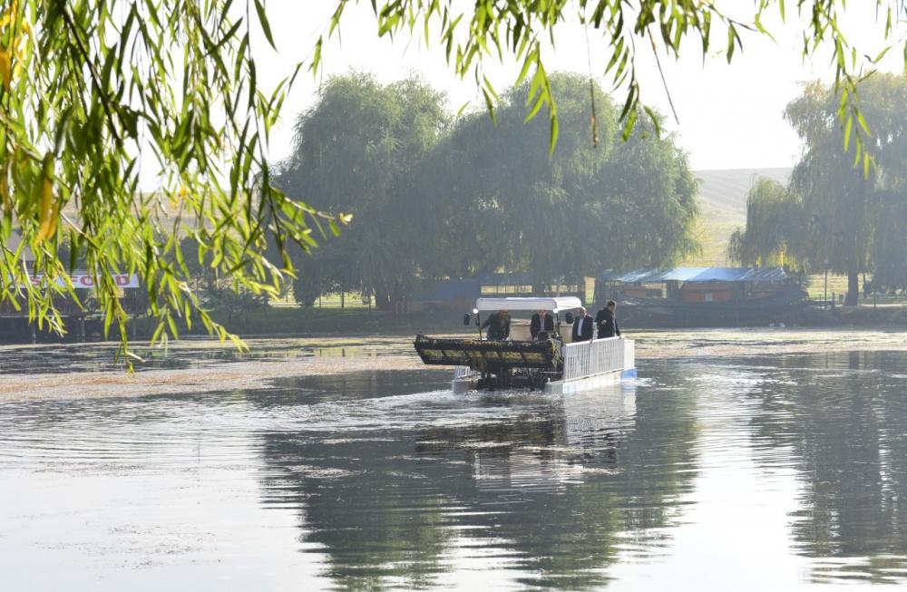 Ceyhan Nehri temizleniyor 2