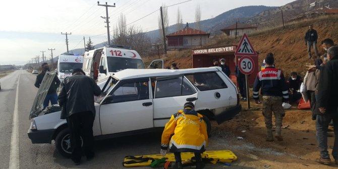Kahramanmaraş'ta feci kaza: 1'i ağır 9 yaralı