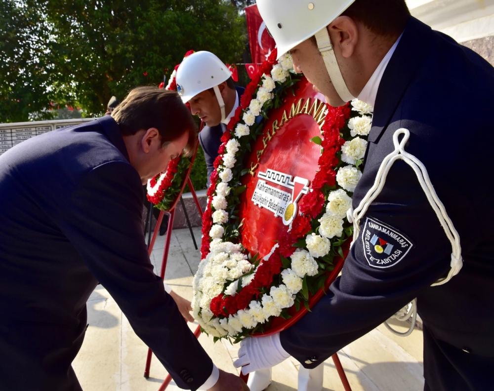 30 Ağustos Zaferi Kahramanmaraş'ta kutlandı 9