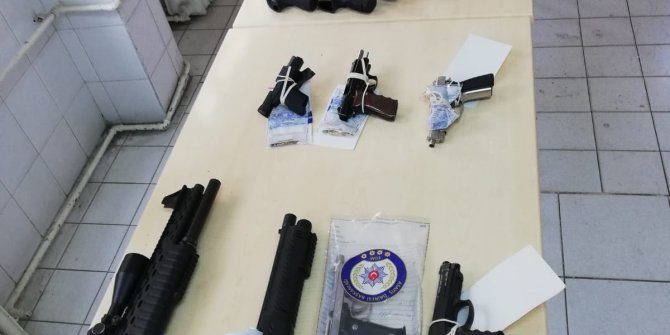 Kahramanmaraş'ta 1 ayda 97 silah ele geçirildi