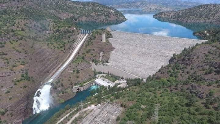 Kahramanmaraş'taki baraj 152 bin konutun elektrik enerjisini karşıl 1