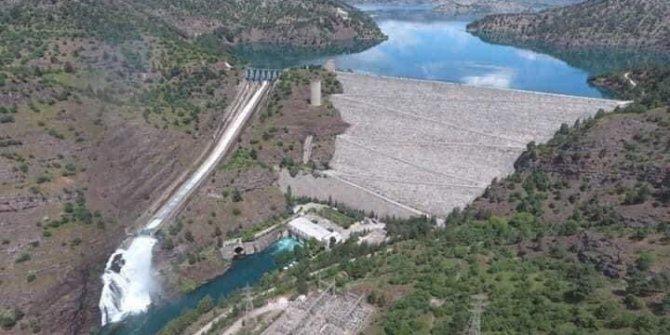 Kahramanmaraş'taki baraj 152 bin konutun elektrik enerjisini karşıl