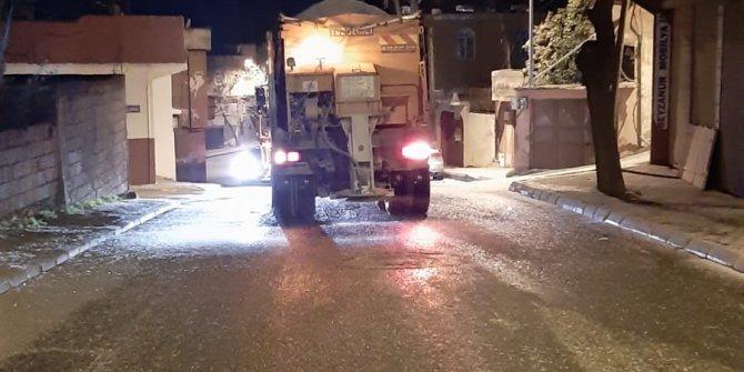 Kahramanmaraş'ta tuzlama çalışmaları devam ediyor