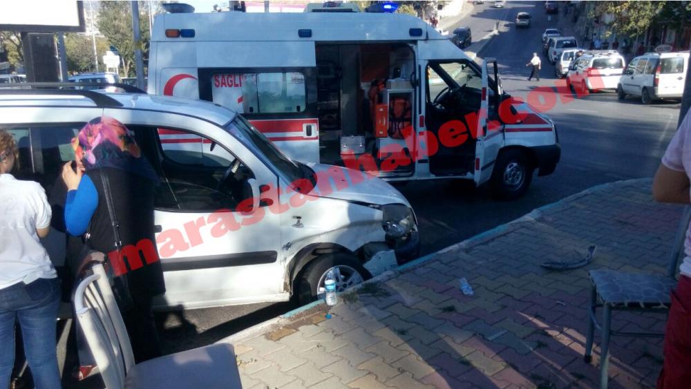 Kahramanmaraş'ta aynı anda, aynı yerde iki farklı kaza! 3