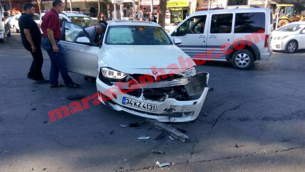 Kahramanmaraş'ta aynı anda, aynı yerde iki farklı kaza! 5