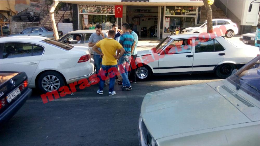 Kahramanmaraş'ta aynı anda, aynı yerde iki farklı kaza! 7