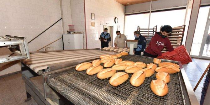 Kahramanmaraş'ta ekmek fırınları ve kasaplar denetlendi