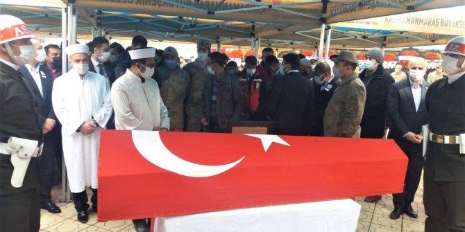 Şehit Mehmet Demir Kahramanmaraş'ta son yolculuğuna uğurlandı