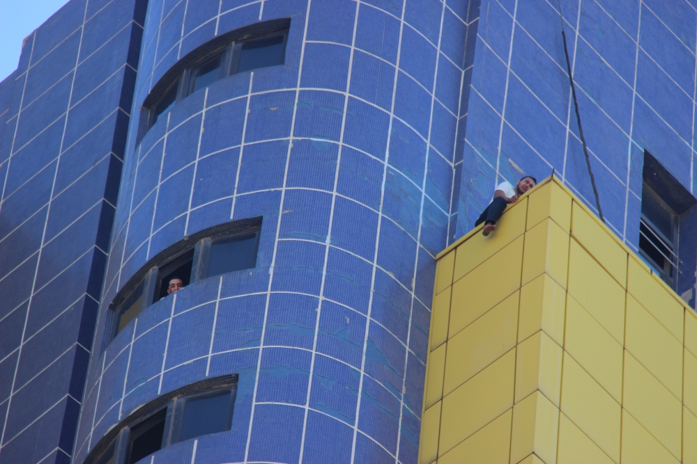 Özel İdare binasında intihar girişimi 4