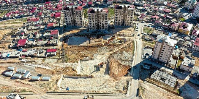 Kentsel dönüşüm konutlarında inşaat sürüyor