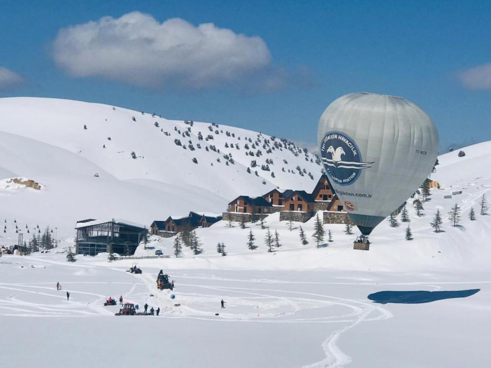 Kahramanmaraş'ta sıcak hava balonuyla ilk uçuş yapıldı 1
