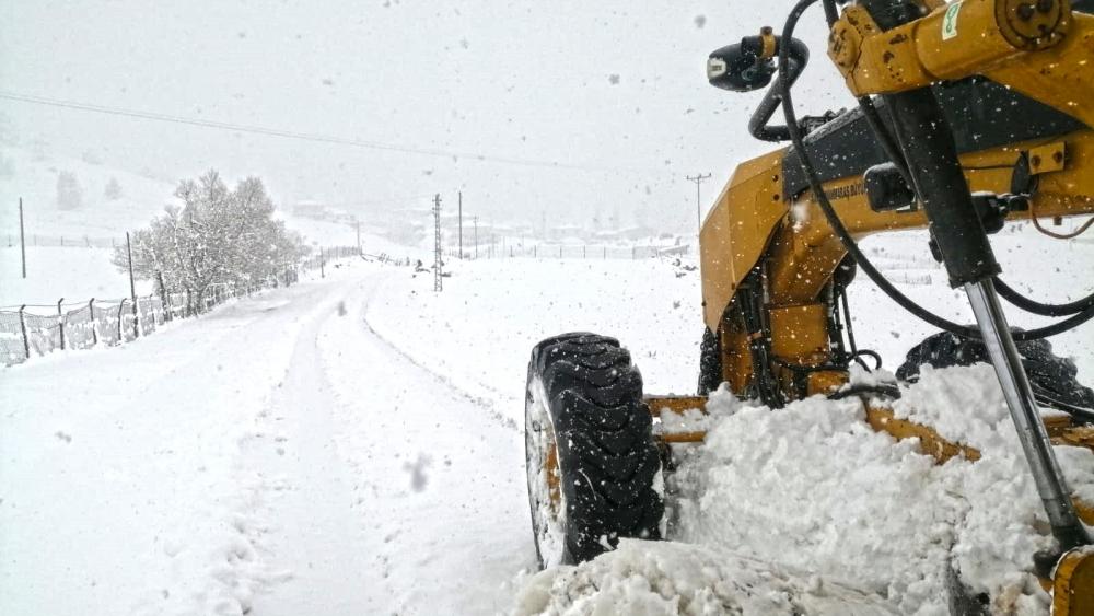 Karla mücadelede aralıksız mesai 1