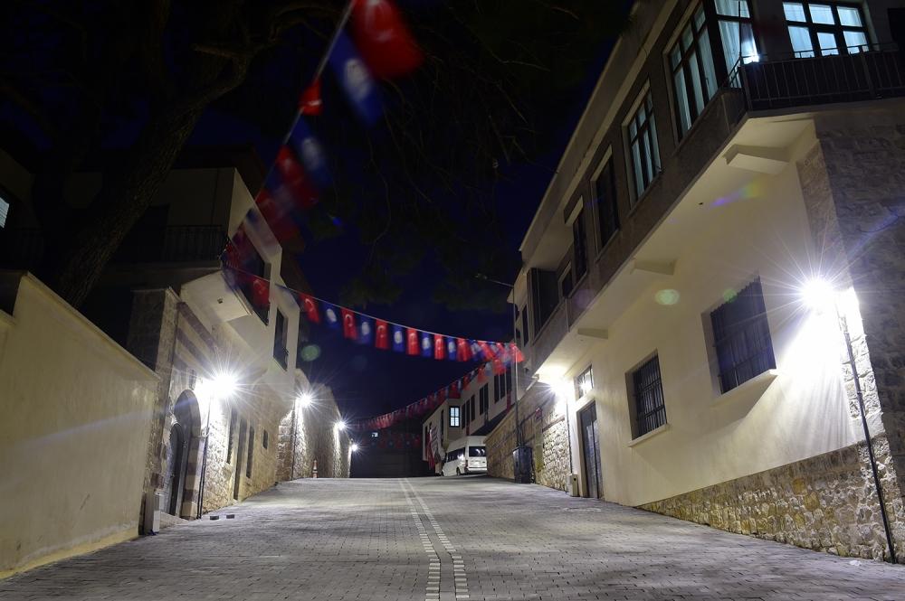 Kahramanmaraş'taki Bahtiyar Yokuşu'na ziyaretçi akını 1