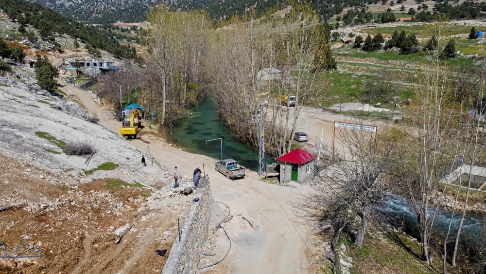 Kahramanmaraş'ın gizemli cenneti Yeşilgöz'ün çehresi değişiyor 1