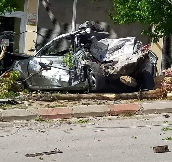 Kahramanmaraş'ta freni patlayan kamyon 3 araca çarptı 1