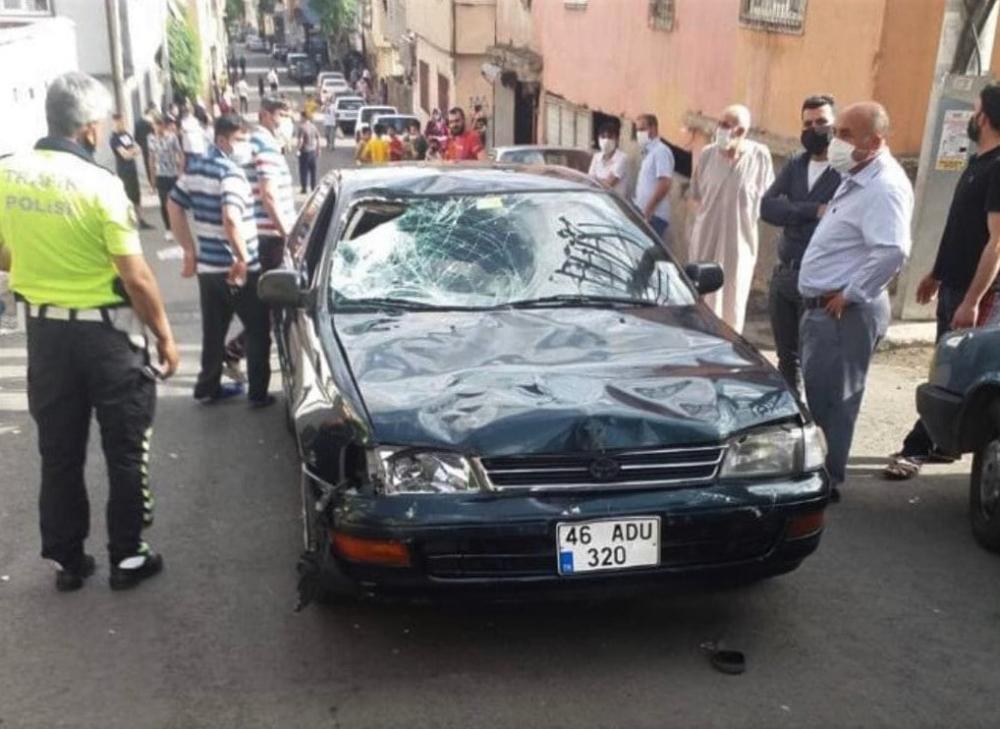 Kahramanmaraş'ta otomobil çarpan çocuk öldü 1