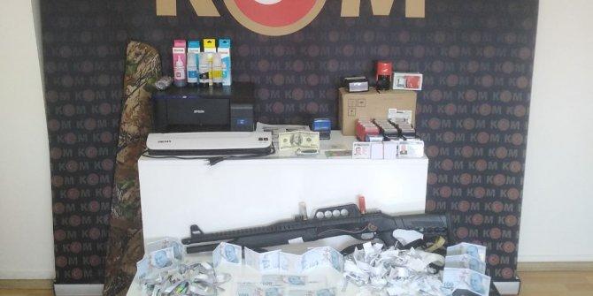 Kahramanmaraş'ta sahtecilere dev operasyon