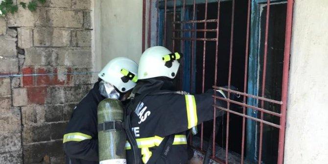 Kahramanmaraş'ta farelerden bıktı evini yaktı