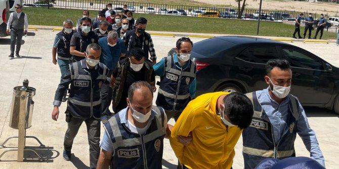 Kahramanmaraş'ta fuhuş operasyonunda 9 kişi yakalandı