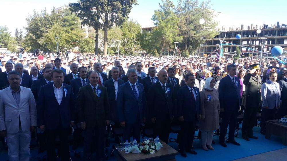 Türkoğlu Belediye Binasına Yoğun Katılım 2