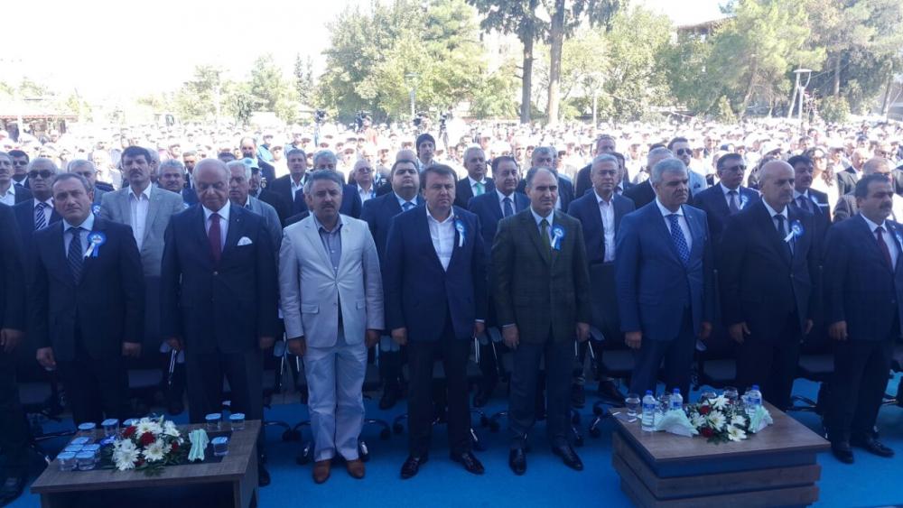 Türkoğlu Belediye Binasına Yoğun Katılım 4