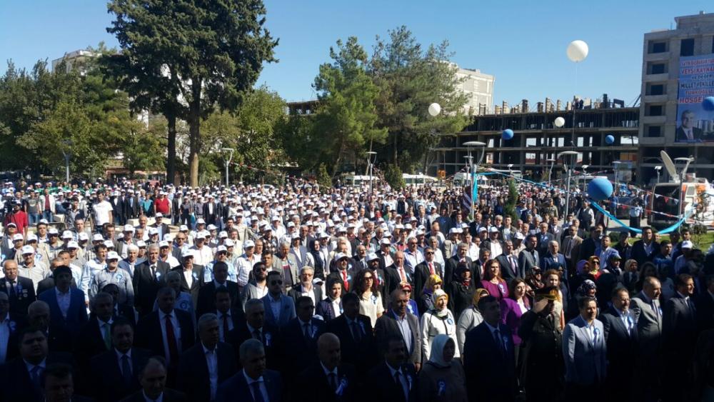 Türkoğlu Belediye Binasına Yoğun Katılım 5
