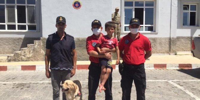 Andırın'da kaybolan çocuk 12 kilometre uzaklıkta bulundu