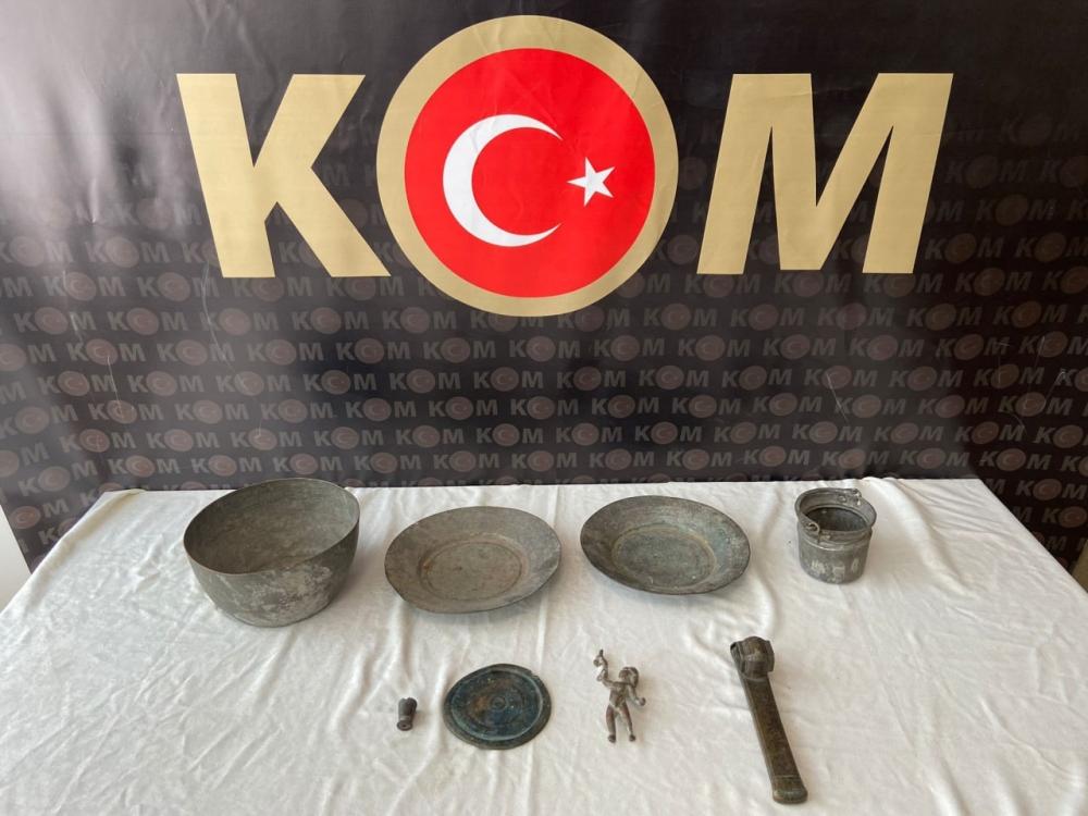 Kahramanmaraş'ta tarihi eser operasyonu 1
