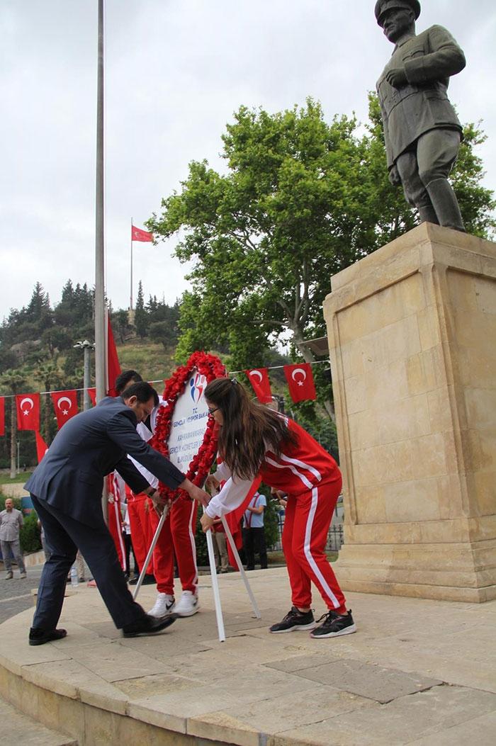 19 Mayıs Atatürk'ü Anma, Gençlik ve Spor Bayramı coşku ile kutlandı 1