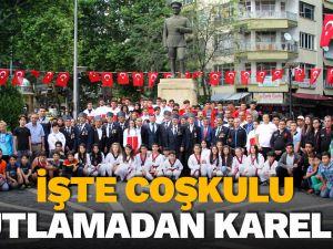 19 Mayıs Atatürk'ü Anma, Gençlik ve Spor Bayramı coşku ile kutlandı