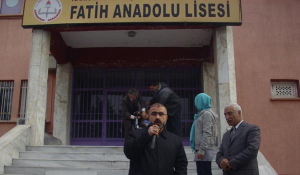 FATİH ANADOLU LİSESİNDEN ANLAMLI KAMPANYA