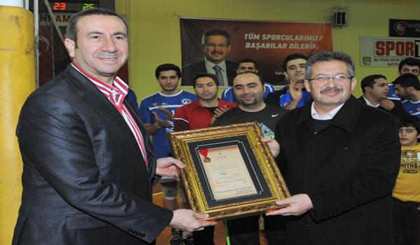 TVF BAŞKANI MUTLUGİL KAHRAMANMARAŞ'TA